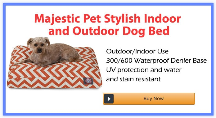 Majestic Pet Stylish Indoor and Outdoor Dog Bed